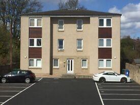 LUXURY Two Bedroom Flat - Central Kirkcaldy - Private Parking & En suite