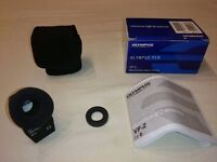 Olympus VF-2 Electronic Viewfinder, with EP-9 eye cup and pouch
