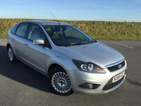 LOW MILEAGE 2008 58 FORD FOCUS 1.6 TITANIUM 5 DOOR HATCH FULL SERVICE HISTORY ONLY 1 FORMER KEEPER!