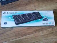 wireless logitech keyboard & mouse - BRAND NEW BOXED