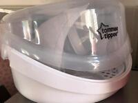 Tommee tippee microwave steriliser used once!