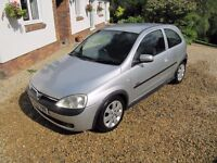 CORSA 1.2 SXI, VGC, LOW INSURANCE, 50 MPG, WELL MAINTAINED, MOT NO ADVISORIES, PART-EXCHANGE WELCOME