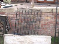 wrought iron gates, secondhand-3ft