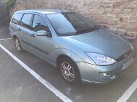 Ford Focus Zeetec 1.6 Petrol Estate! Y-2001! Mot Jan 18!! Runs Drives Good! New Plugs and coil pack!