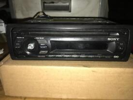 Sony Car CD Player Aux