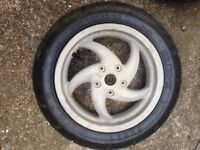 Gilera rear wheel