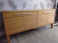 IKEA 'BJURSTA' Oak effect Sideboard