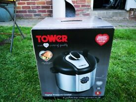 Tower Health T16005 One Pot Express 12-in-1 Electric Pressure Cooker