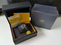 "Breitling Avenger Seawolf Blacksteel Chronograph ""Code Yellow"" Edition FULLY BOXED"