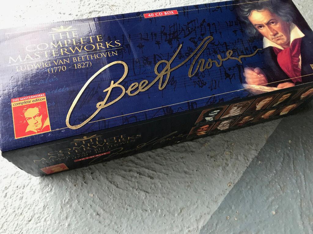 Beethoven Complete Masterworks CDs