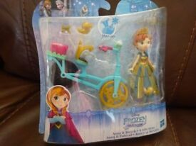 New Disney Princess Little Kingdom Doll Frozen Anna Only £5 ideal gift
