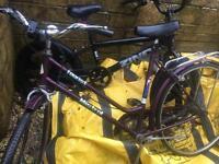 2 push bikes