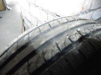 (5 bolt) - 4 *GOOD* part worn tyres on rims 195/65 R15
