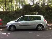 Renault Grand Scenic 7 Seater Silver 2005 Petrol