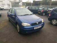 AUTOMATIC. 02 VAUXHALL ASTRA. 1.6 PETROL. PX TO CLEAR
