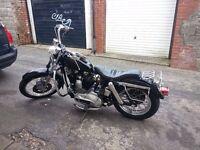 Classic 1976 Harley Davidson Sportster