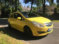 2008 (58) Vauxhall Corsa Limited Edition Style 1.2 petrol vxr exhaust induction kit 12 month MOT