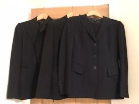 3 Anne Klein designer trouser suits