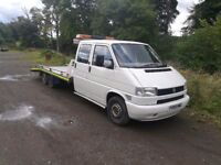 VW RECOVERY TWIN CAB TRUCK PLATED TWIN AXLE WITH 17 FOOT BED!!!