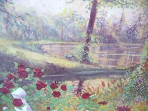 "Listed Artist Peter Robson ""Summer Fragrance"" Limited Edition Stratford Kitchener Area image 6"