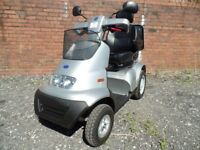 TGA Breeze 4S 4/8mph Road/Pavement Scooter. In lovely condition