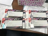 2 general admission silverstone tickets for today and tomorrow race day. RRP £210 each