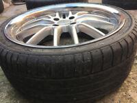 "Alloy wheels 17"" inch Vauxhall astra corsa Calibra Meriva Tigra Vectra alloys wheel Citroen C1"
