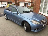MERCEDES C220 AMG SPORT FULL PANORAMIC ROOF