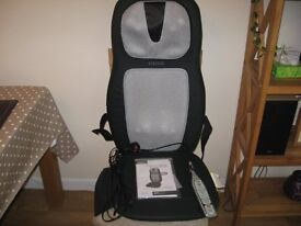 HOMEDICS Back and Shoulder Massage chair with heat