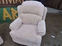 Fabric Armchairs Delivery Available