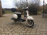 AJS Modena 50cc (2015 65 REG), full service history, one owner from new