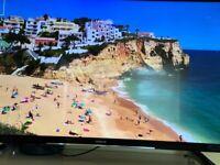 Hitachi 43-Inch 4K LED Smart TV.