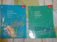 ABRSM VIOLIN GRADE 2 BOOKS