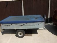 FACTORY BUILT GALVANISED TRAILER ONLY £260,