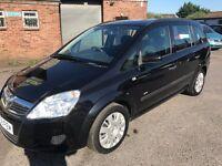 Vauxhall Zafira 1.6 i 16v Life 5dr 2009 (58 reg), MPV £1999 (30 days warranty)