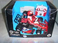radio control go kart boxed