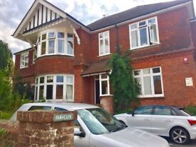 Luxury two bedroom first floor flat in the heart of Lewes, with allocated parking.