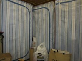 3 Free standing wardrobes H57 inches, W29 inches, D19 inches – three for sale all in perfect new