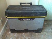 2 stanley tool boxs