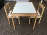 IKEA Latt table & chairs