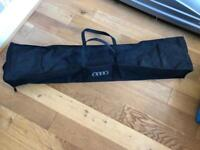 Audi Q5 roof cross bars and storage bag £140ono