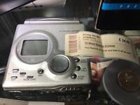 Sharp MD-t80 mini disc portable recorder