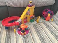 Fisher price little people fair & park play set