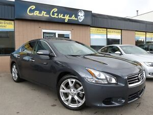 2012 Nissan Maxima SV (CVT) - Heated Leather, BU Cam, Sunroof
