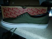 Vans trainers green size 10.5 UK New