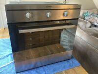 Indesit intergrated electric oven excellent condition 14months old