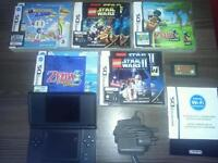 NINTENDO DS and 7 popular games