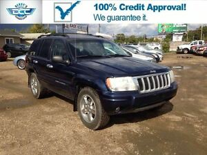 2004 Jeep Grand Cherokee Limited Leather 4x4!! Amazing Value!!