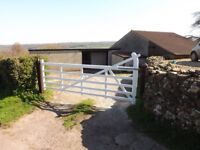 Stable yard complex with land to rent. £500 PCM.