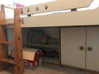 Childrens cabin bed and units